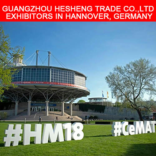 Guangzhou hesheng trade co., ltd expositores en hannover, alemania